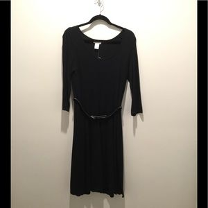 Black light sweater dress